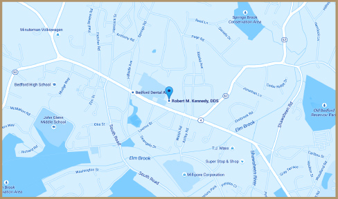 Kennedy Family Dentistry map