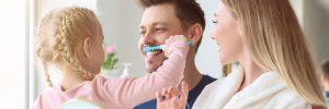 bedford brushing teeth